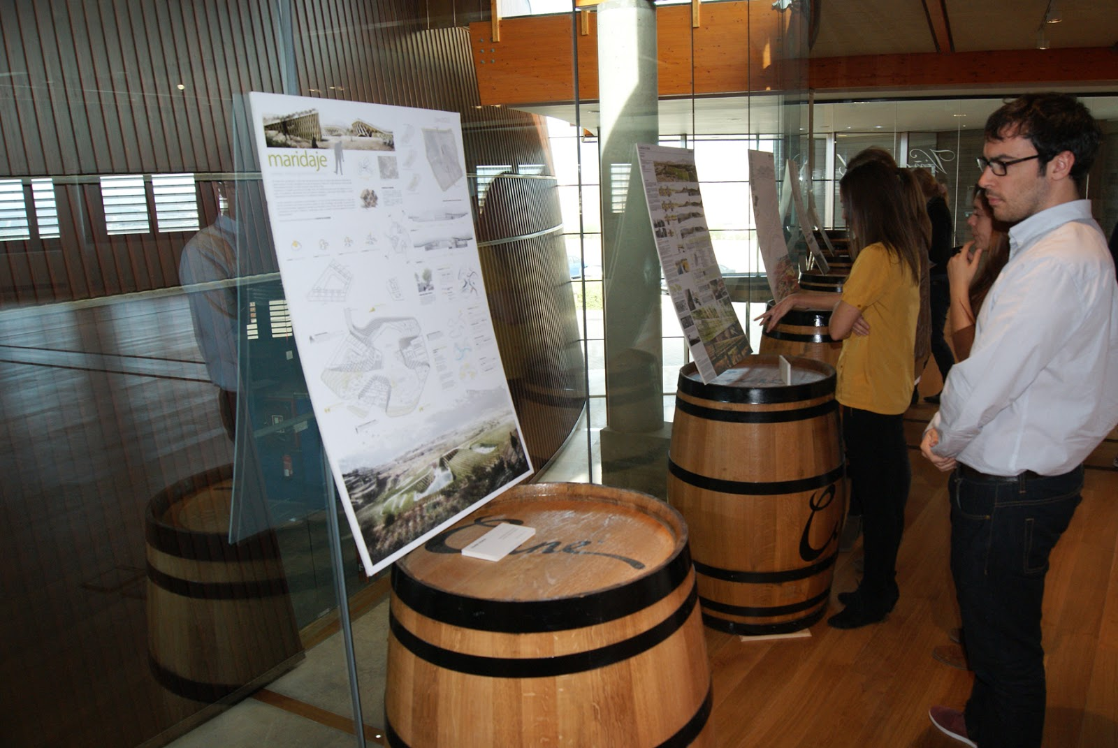 Exposici n landscape architecture wine arquitectura for Los mejores disenos de interiores del mundo