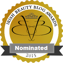Irish Beauty Blog Nominee 2015