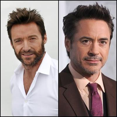 Hugh Jackman Robert Downey Jr