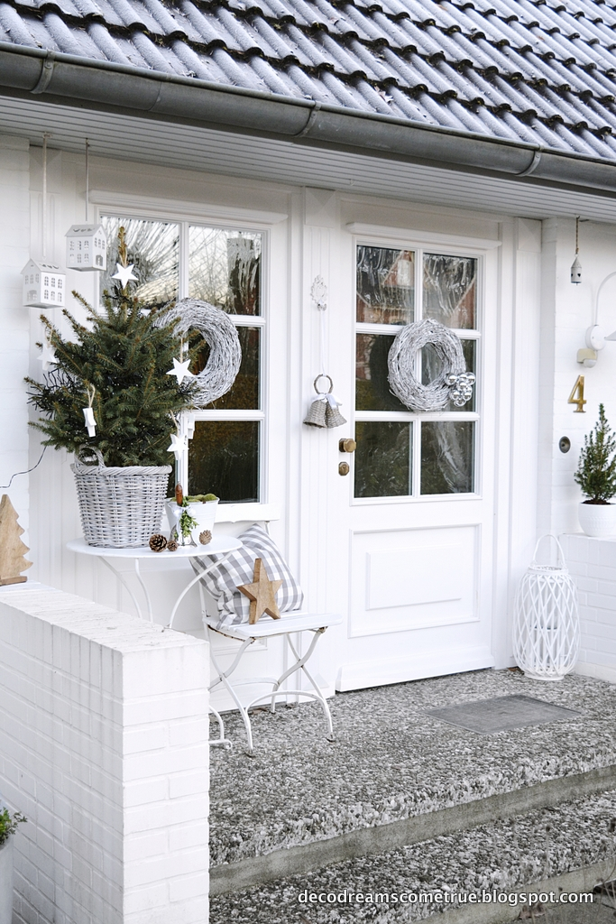 Dreams come true weihnachtsdekoration au en in 3 x 3 schritten - Weihnachtsdekoration aussen ...