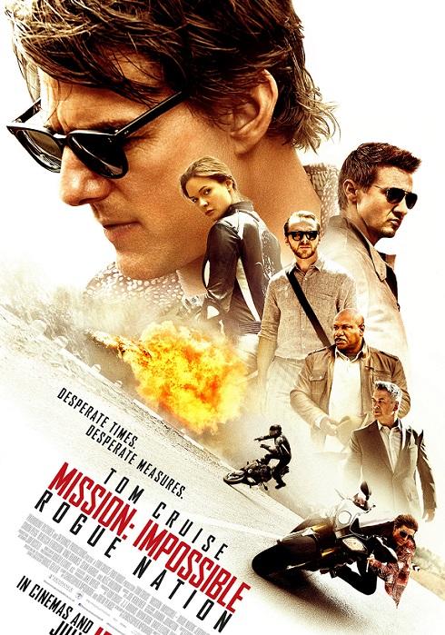 فیلم دوبله : ماموریت غیر ممکن 5 - ملت سرکش Mission Impossible 5 Rogue Nation 2015