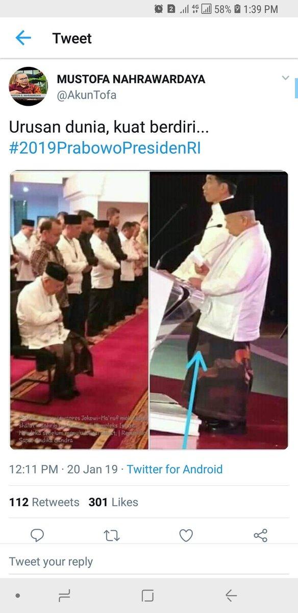 KH Ma'ruf Amin Shalat Duduk & Debat Bisa Berdiri, Ini Penjelasan Dokter