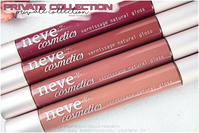 recensione swatches swatch vernissage  gloss neve cosmetics , private collection review recensione