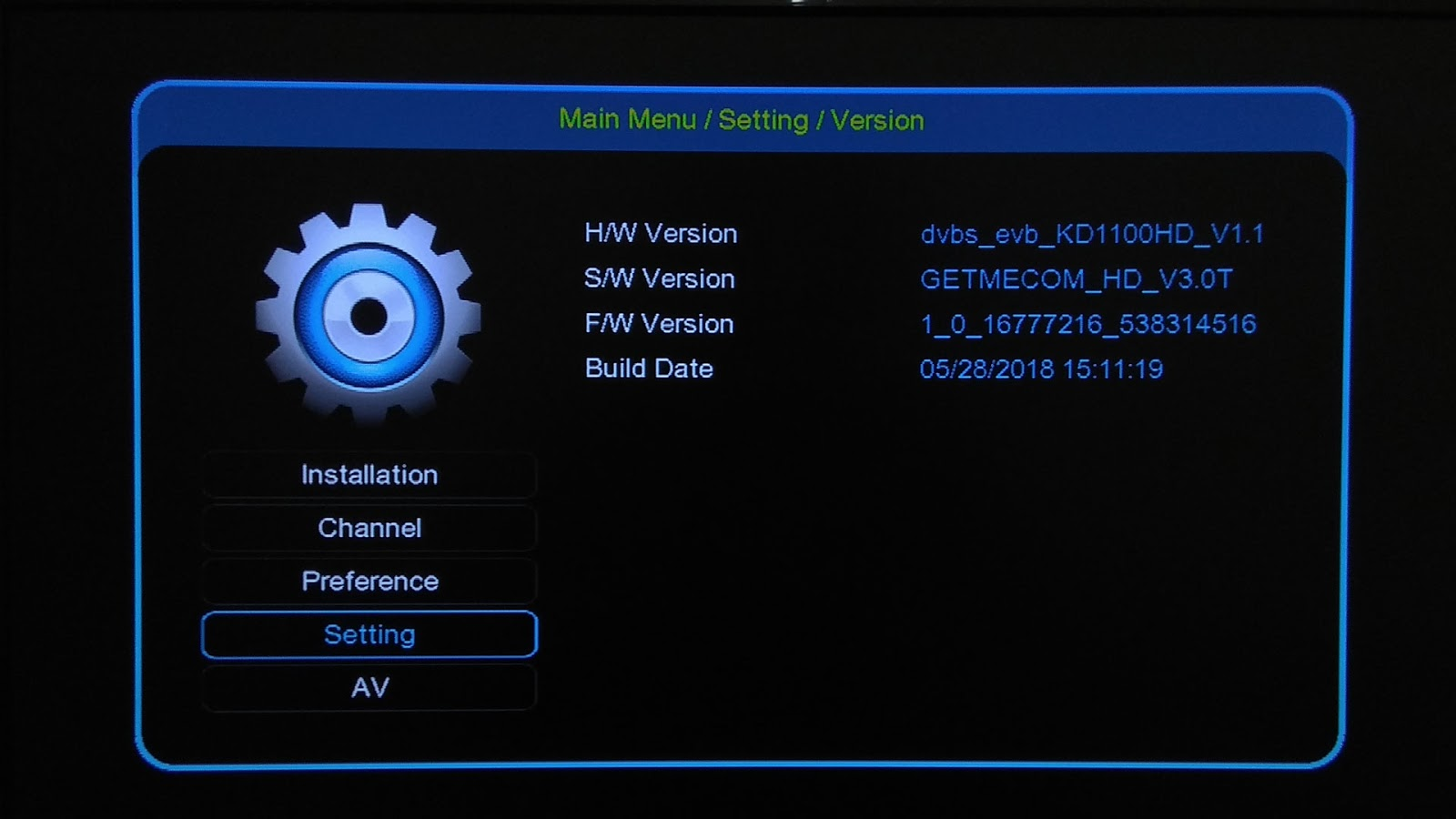 Firmware Getmecom HD009 New FTA SW Software Terbaru