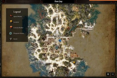 Divinity Original Sin 2, Nebora Location Map, Source Collars Guide