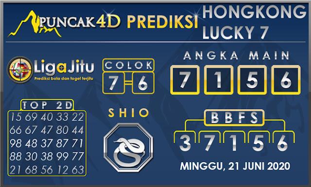PREDIKSI TOGEL HONGKONG LUCKY 7 PUNCAK4D 21 JUNI 2020