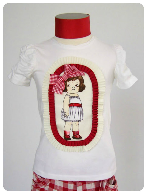 Camiseta personalizada con Paper Dolls