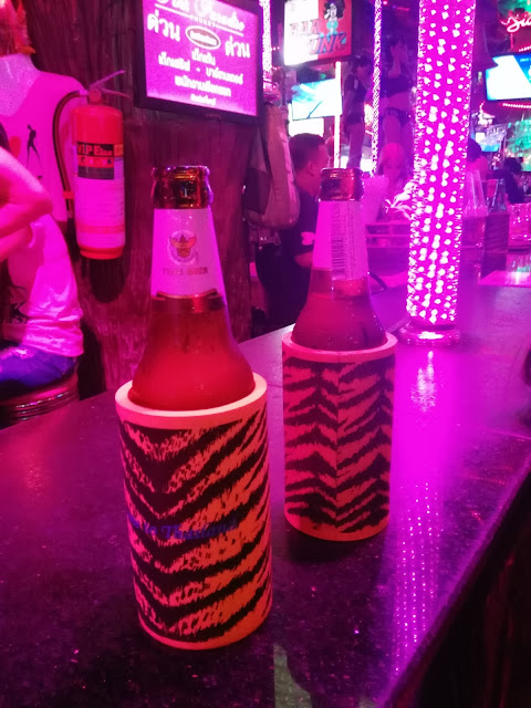 Chang beers in Thailand
