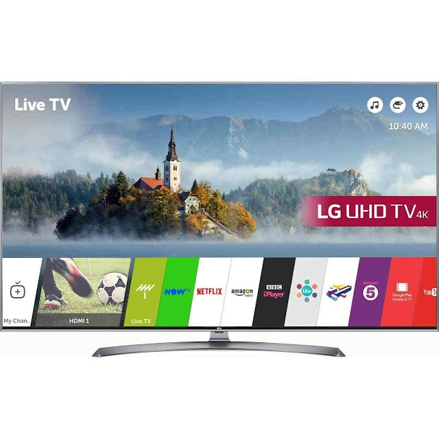 LG 60UJ750V - great deal for a 60 inch big screen 4K TV