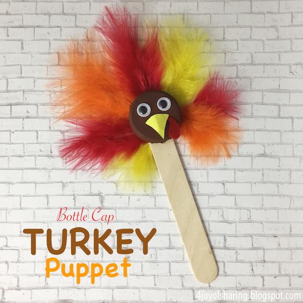 the joy of sharing thanksgiving turkey craft for kids