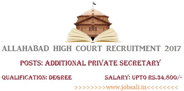 High Court Jobs, Govt Jobs for Graduates, Govt Jobs in UP