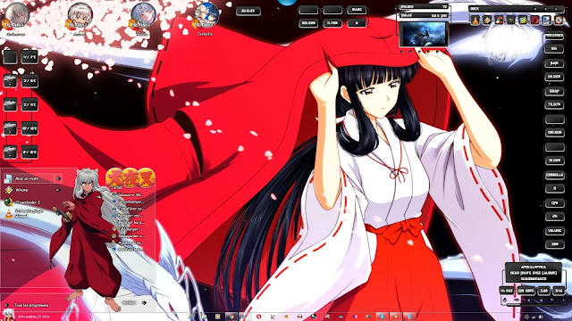 Inuyasha Theme Win 7 by Andrea_37