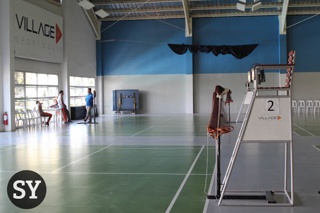 Badminton courts - The Village Sports Club