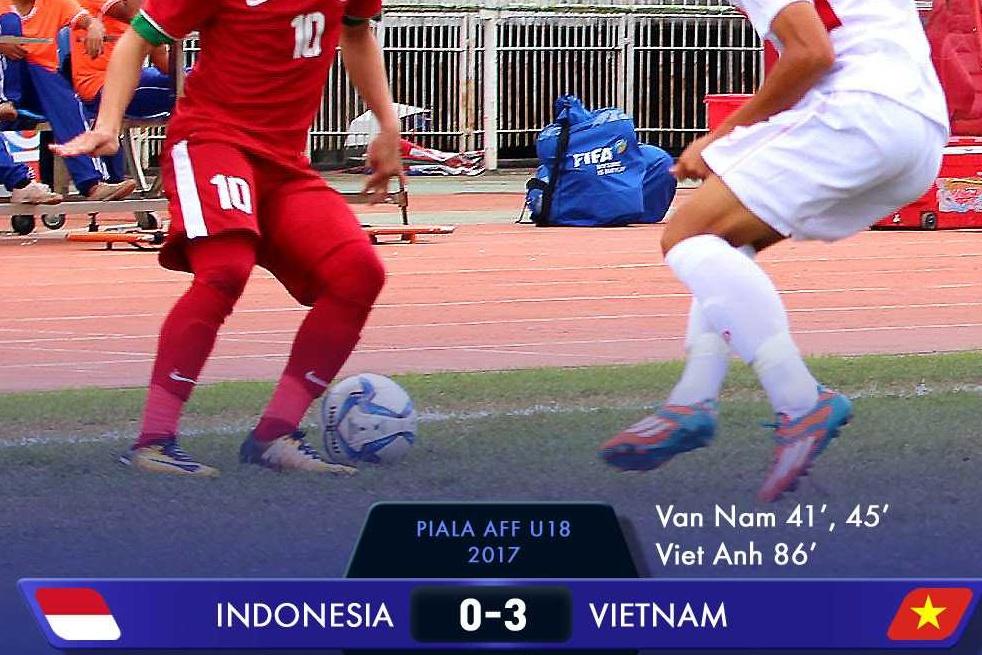 indonesia kalah dari vietnam
