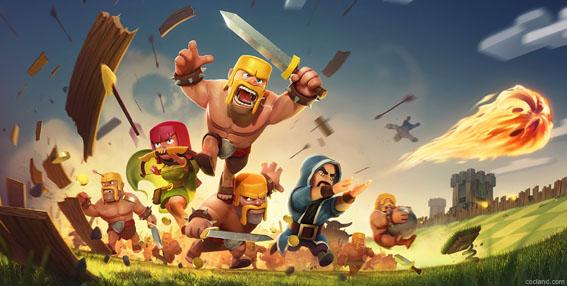تحميل لعبة كلاش اوف كلانس للأندرويد والأيفون والأيباد وجميع الأجهزة ,Clash of Clans Game for All Devices free Download