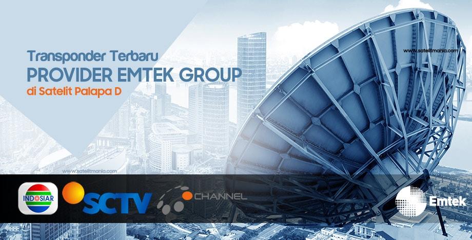 Daftar Frekuensi Terbaru Dari Provider Emtek Group