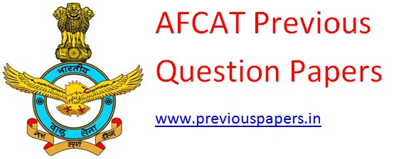Afcat Model Question Papers Pdf