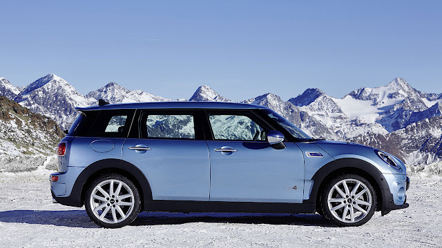 The new MINI Clubman ALL4