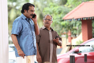 Jayaraj Warrier in 'Punyalan Agarbathis' movie.