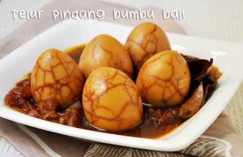 Resep Masak Telur Pindang Bumbu Bali