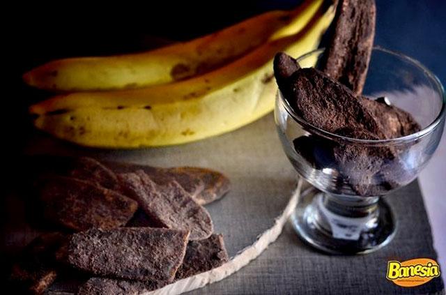 keripik coklat pisang lampung