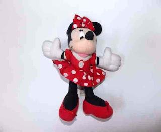 Gambar Boneka Minnie Mouse Lucu dan Imut 1