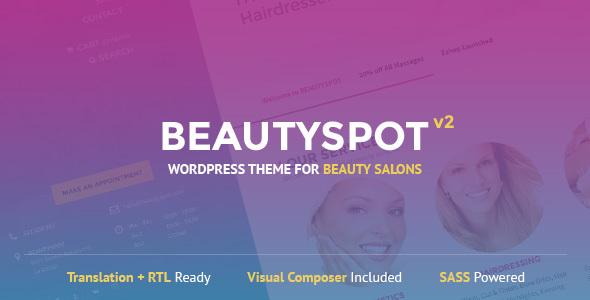 BeautySpot v2.4.4 – WordPress Theme for Beauty Salons