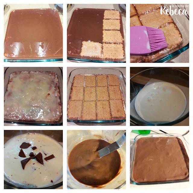 Receta de tarta de galletas y crema 02