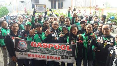 GASPOOL Imbau Komunitas Ojek Online Netral Pada Pilgub Lampung 2018