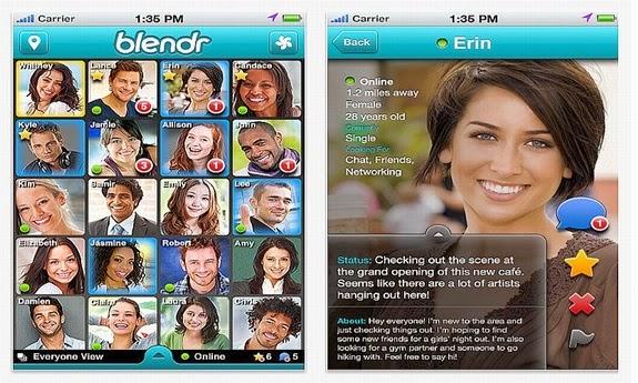 2405701cf2575 A versão heterossexual do Grindr (um aplicativo gay para pegação forte).  Ele encontra pessoas disponíveis para relacionamento com interesses em  comum