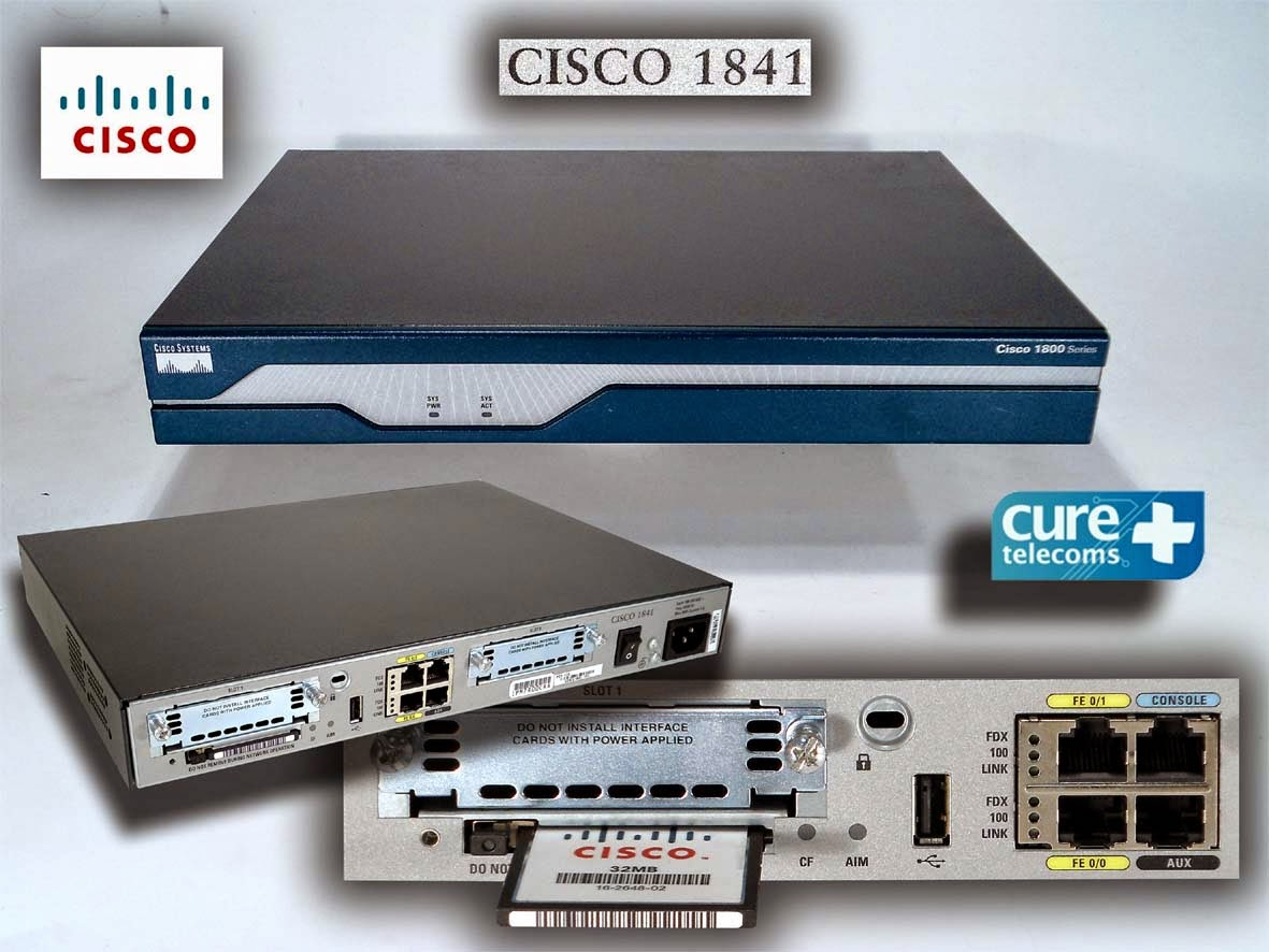 CONFIGURATION ROUTEUR CISCO 1841 PDF
