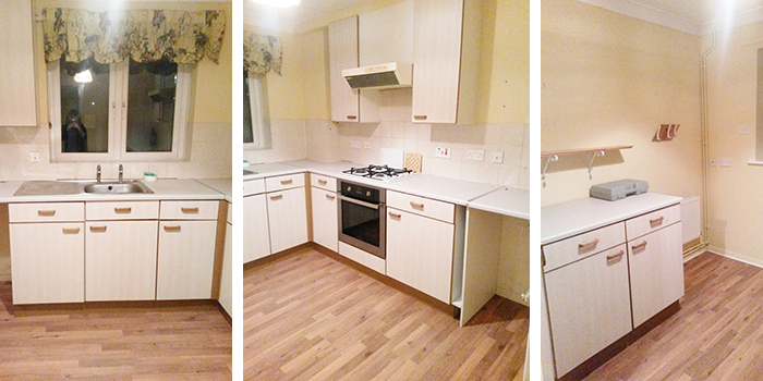 Illustrated Teacup Kitchen Refit