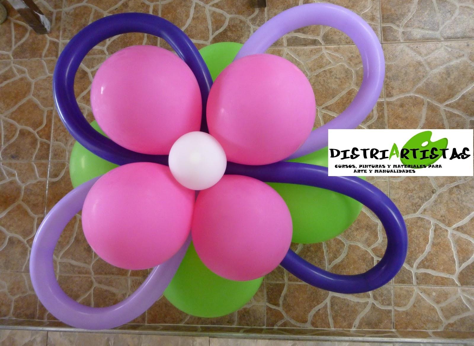 Distriartistas curso de decoracion con globos en bucaramanga for Cursos de decoracion
