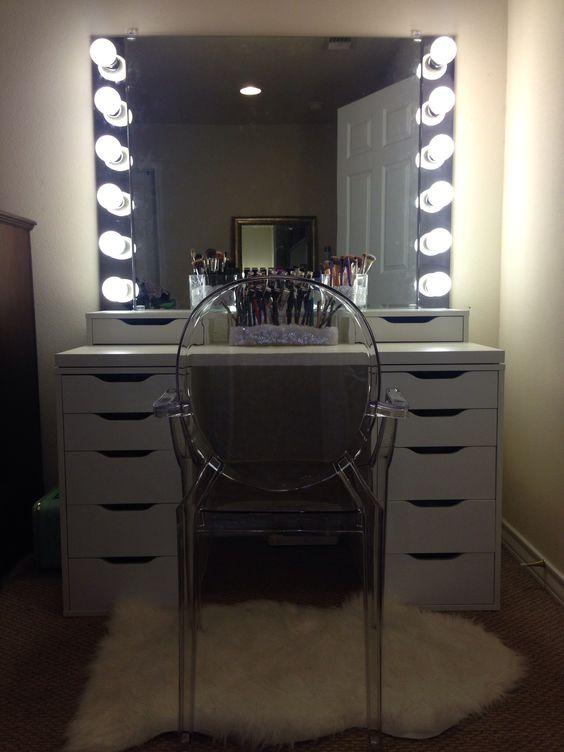 Building My Makeup Vanity  Inspiration. Building My Makeup Vanity  Inspiration   All Things Pin