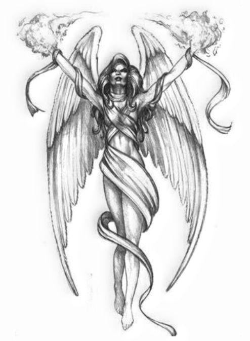 Tatuaż Wzory Tatuaży Wzory Tatuaży Anioły