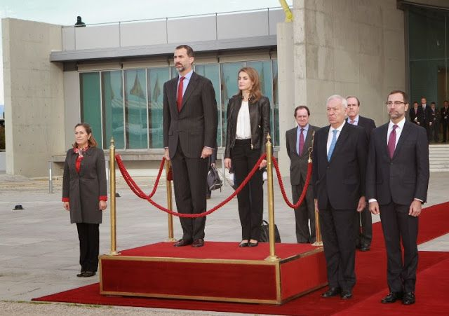 Prince Felipe and Princess Letizia  Visit  the United States