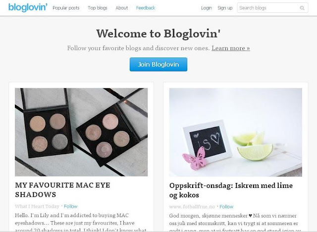 How To Create An Account On Bloglovin