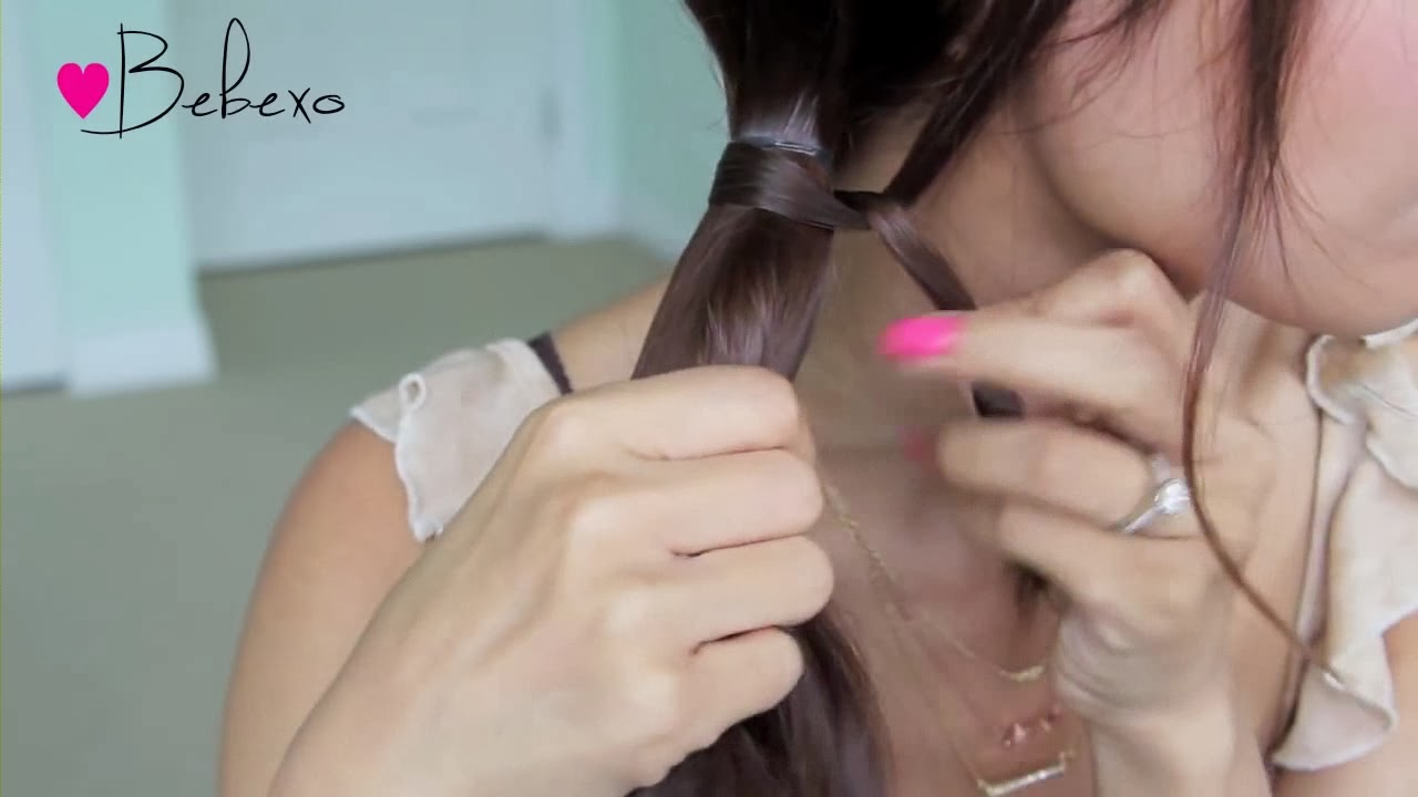 Cara Menata Rambut Sebahu Panjang: Membuat Kepang Rambut ...