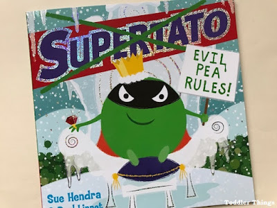 Supertato Evil Pea Rules book review for toddlers