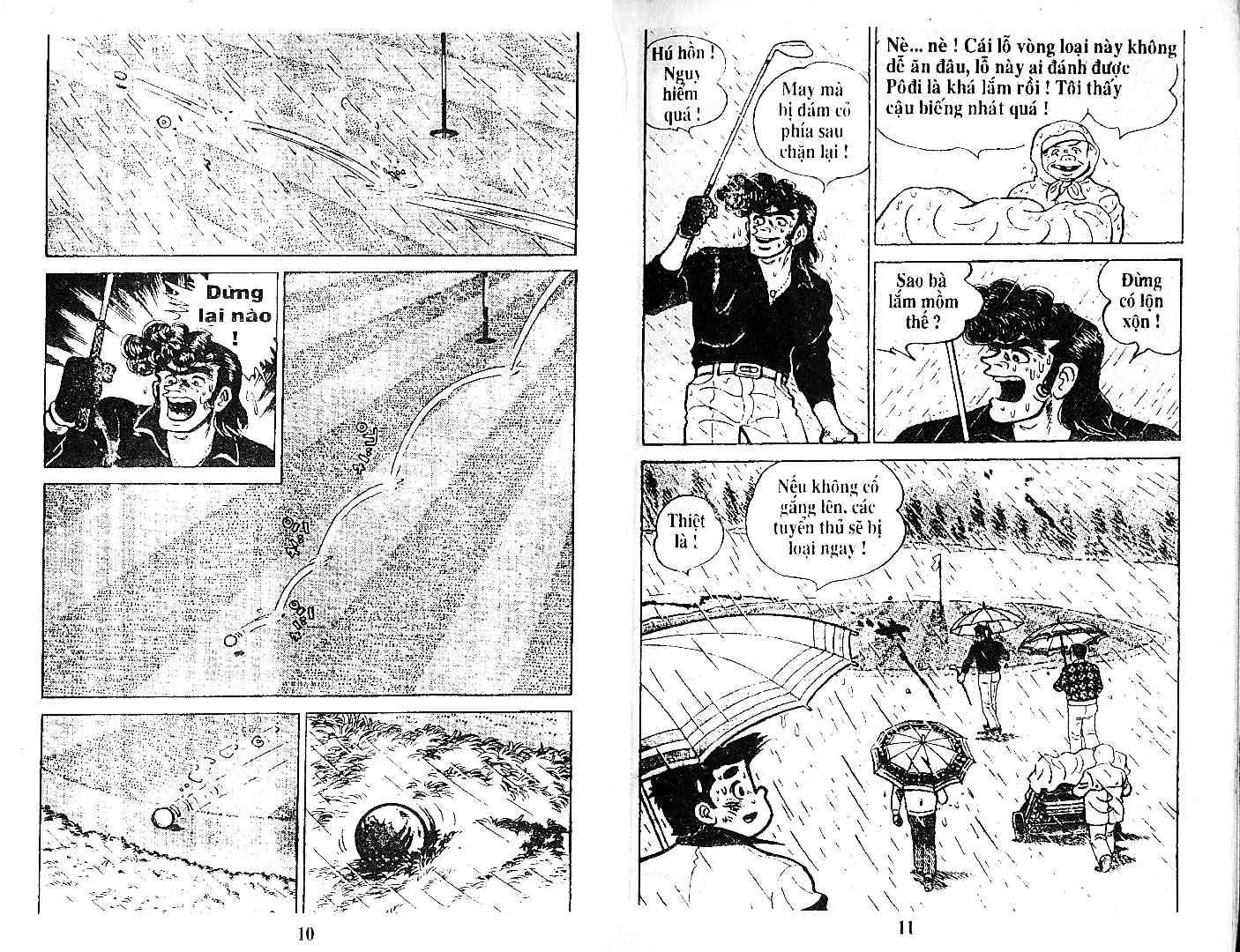 Ashita Tenki ni Naare chapter 27 trang 4