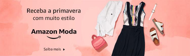 Conheça as peças de primavera na loja de moda da Amazon