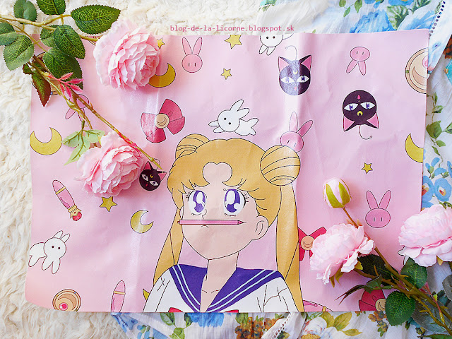 Anime Girl Sailor Moon Tablecloth