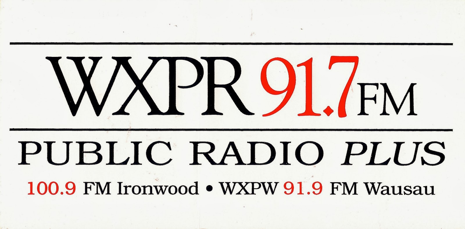Radio Sticker Of The Day Wxpr