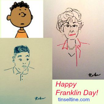 "PEANUTS Celebrates the 47th Anniversary of ""Franklin,"" its First African-American Character! #Frank"