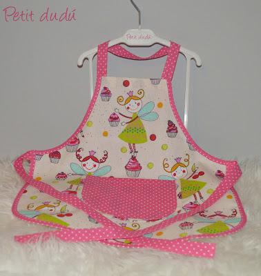 mandiles para niña Petitdudu