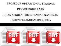 Prosedur Operasional Standar (POS) USBN Pendidikan Dasar dan Menengah Tahun 2017
