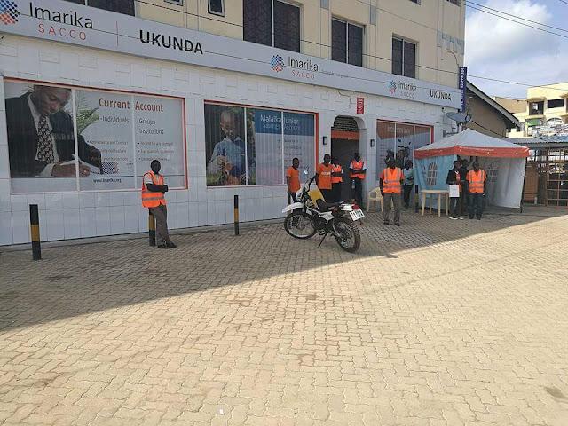 Imarika sacco ukunda branch