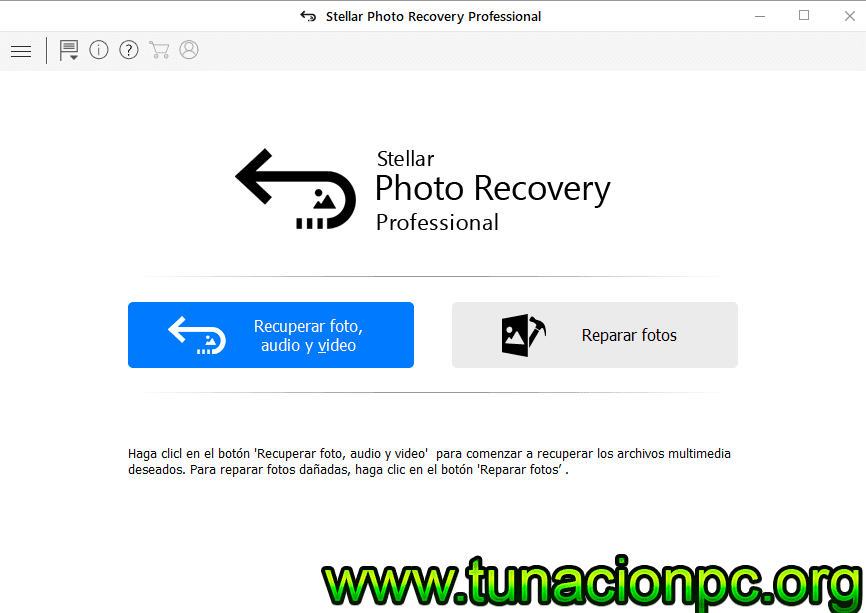 Descargar Stellar Phoenix Photo Recovery Portable