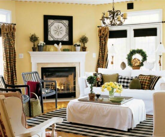 Interior Design Tips: Country Living Room Design Ideas ...