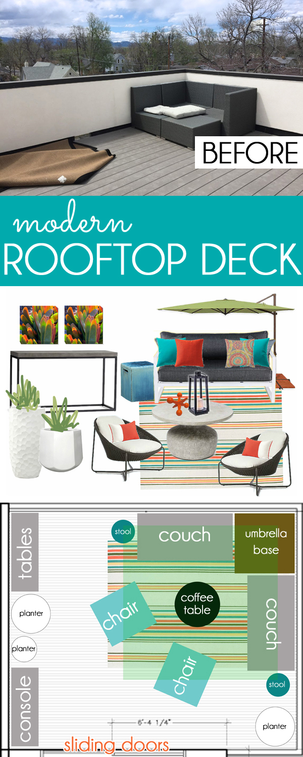 Modern Rooftop Deck Design Plans